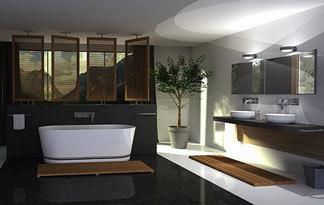 Badezimmer Kosten: m²-Preise und Beispiele