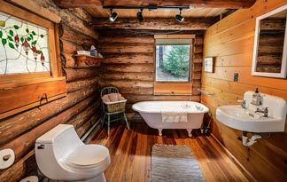 Einrichtung für Badezimmer - Möbel, Spiegel und Deko